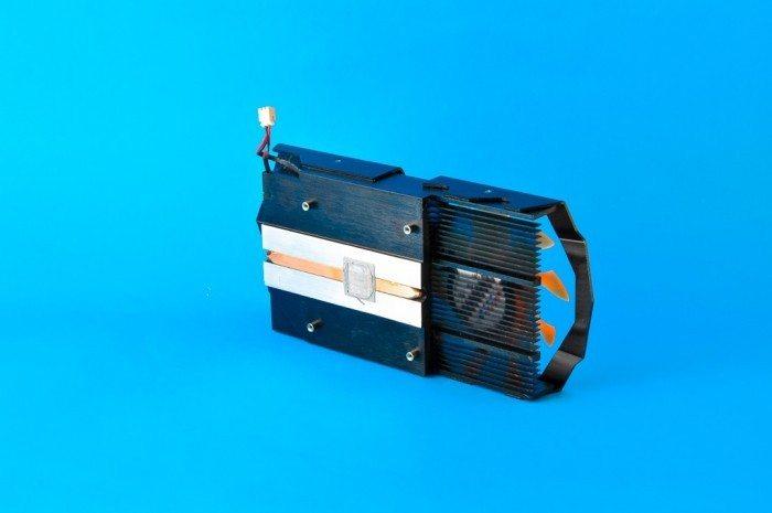 ZOTAC GeForce GTX 750 Ti OC - chłodzenie od wewnątrz