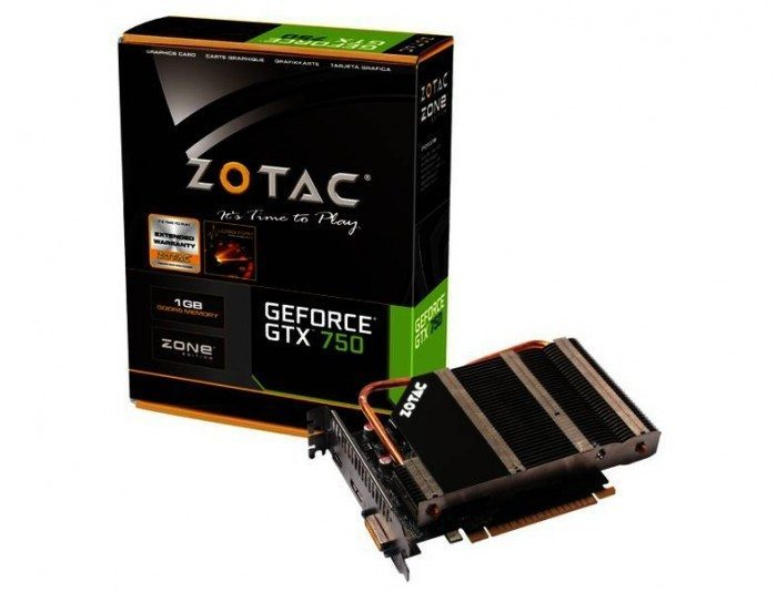 ZOTAC GeForce GTX 750 ZONE Edition - wygląd