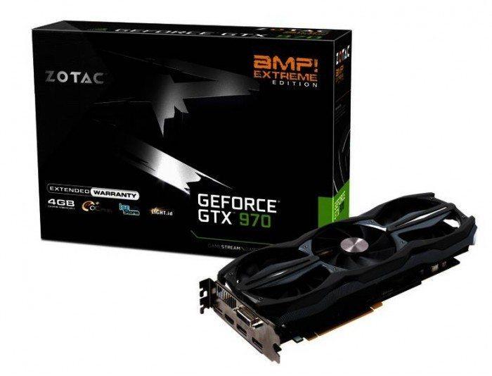 ZOTAC GeForce GTX 970 AMP! Extreme Edition - wygląd