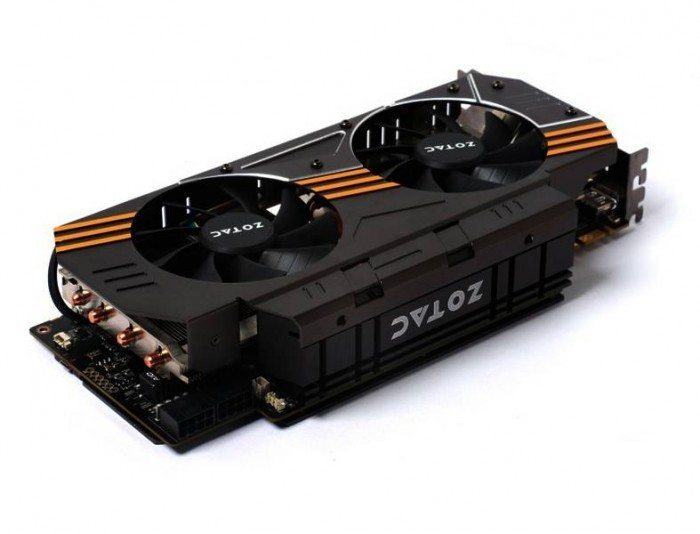 ZOTAC GeForce GTX 970 AMP! Omega Edition - zasilanie