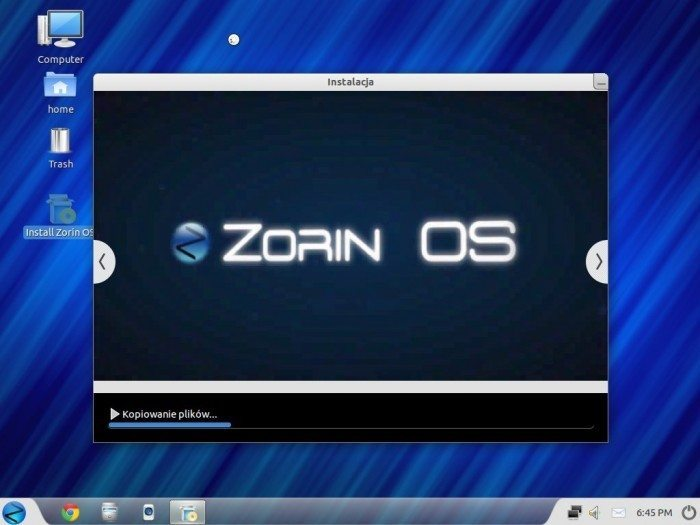 Zorin OS 6 Core i Ultimate - instalacja