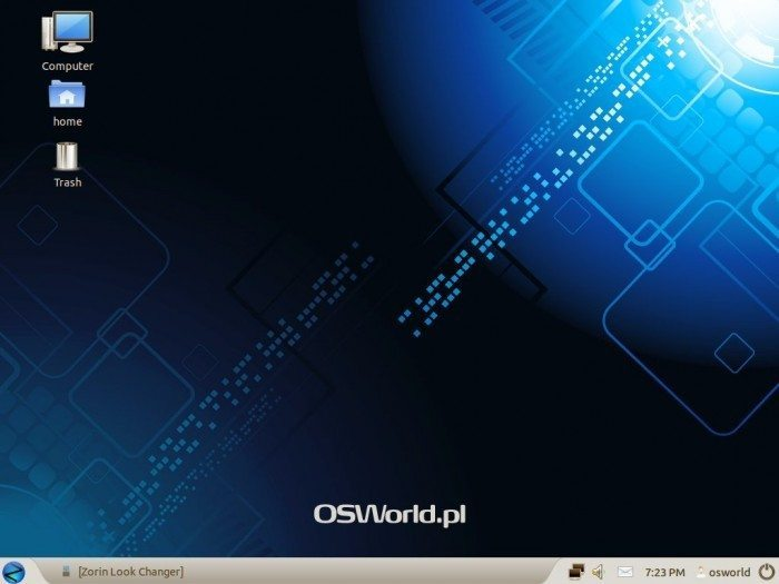 Zorin OS 6 Core i Ultimate - wygląd Windows XP