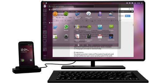 Ubuntu dla Androida (slider)