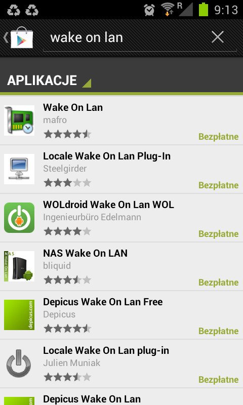 Wake on LAN - Android