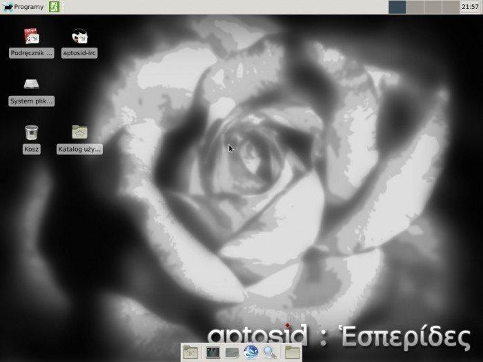 aptosid 2013-01 Xfce - pulpit