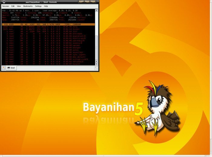 Bayanihan Linux 5.4