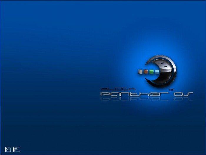 blackPanther OS - Bootsplash
