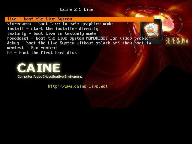 CAINE 2.5