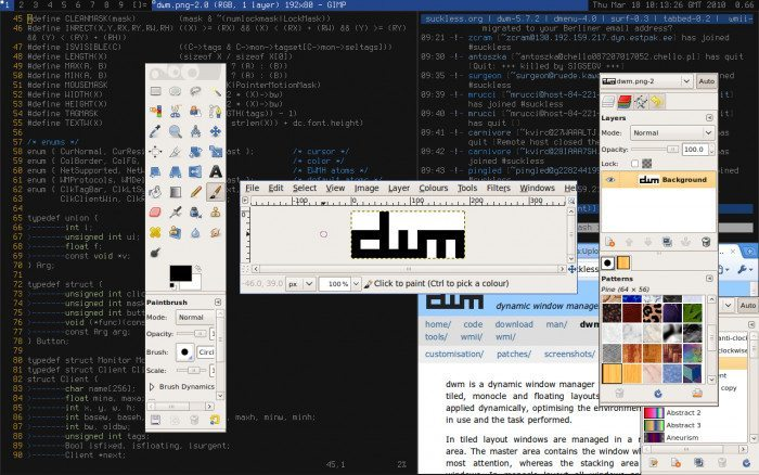 dwm - dynamic window manager