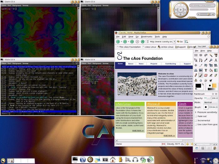 Caos Linux - E17