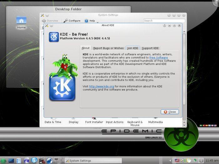 Epidemic GNU/Linux 3.2