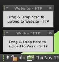 Linux Mint 8 - File uploader