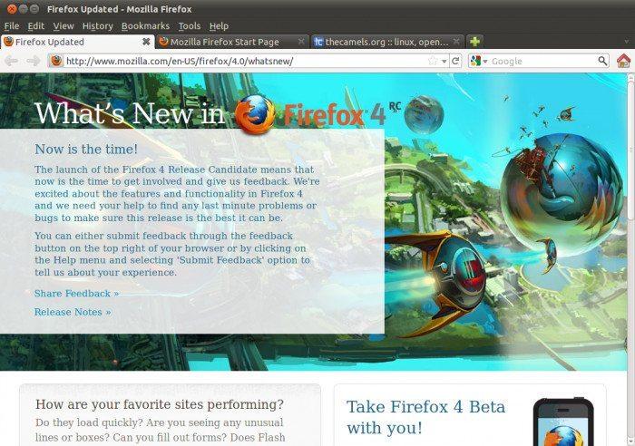 Mozilla Firefox 4.0