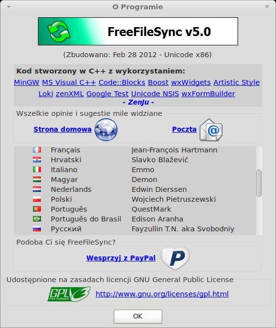 FreeFileSync 5.0