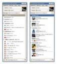 Galaxium Messenger - Lista kontaktów