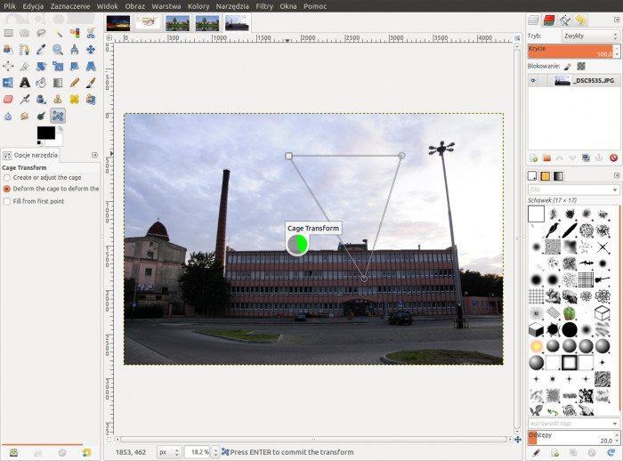 GIMP 2.7.3