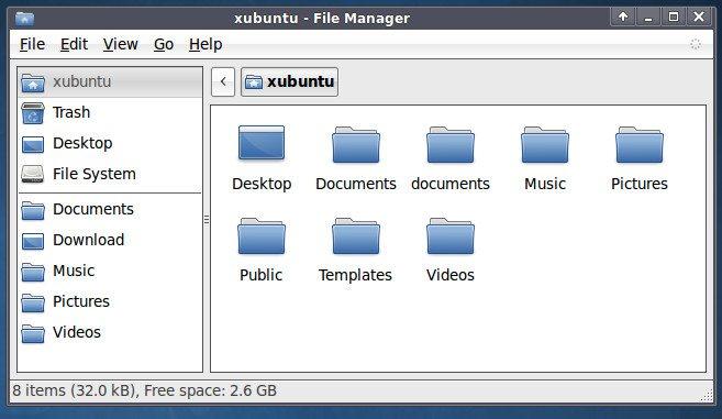 Xubuntu - GNOME