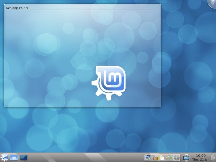 Linux Mint 8 - Pulpit