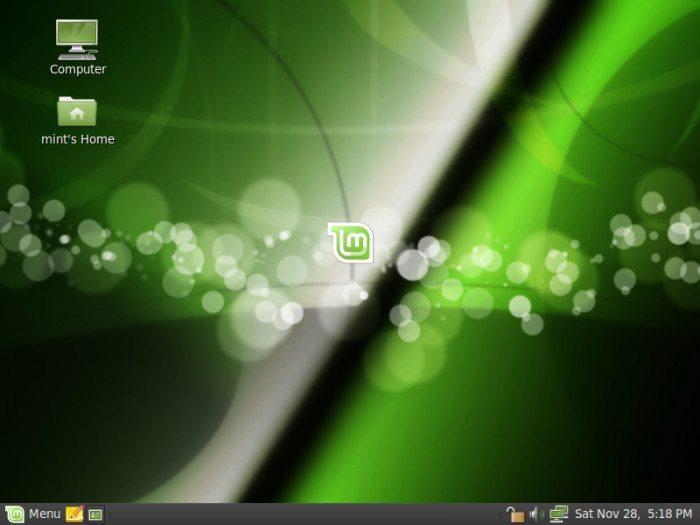 Linux Mint 8 - Pulpit