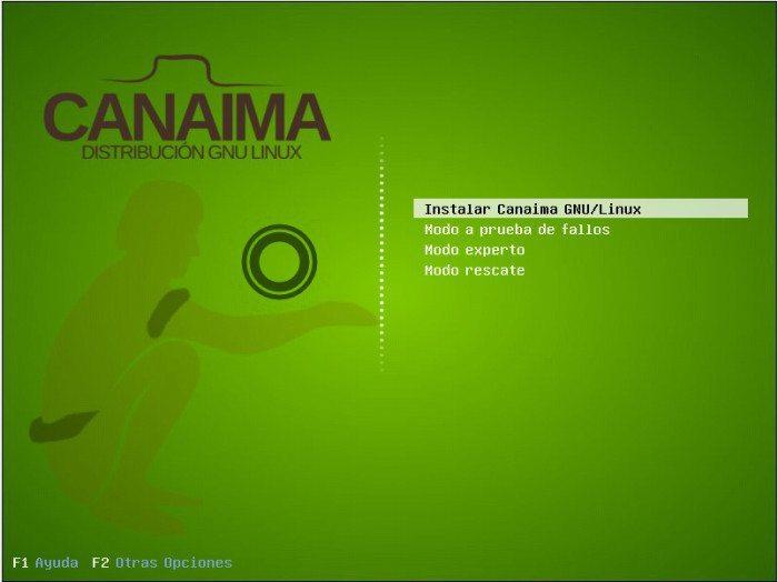 Canaima - Boot