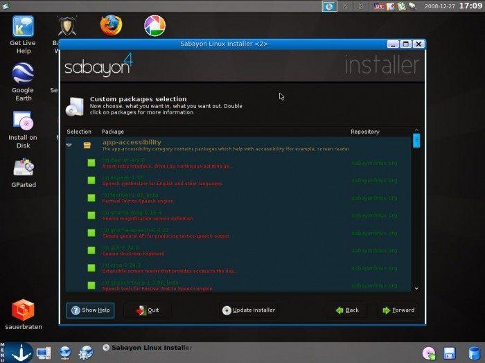 Sabayon Linux 4 - Instalacja