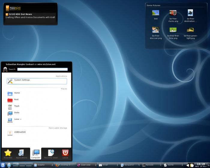 KDE 4.2 Beta 1