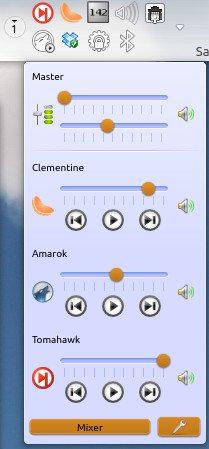 KMix KDE 4.11