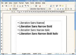 liberation-narrow-font