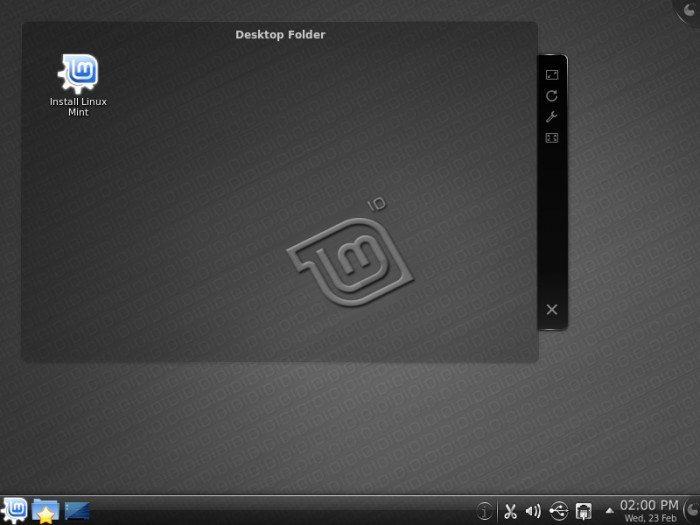 """Linux Mint 10 """"KDE"""""""
