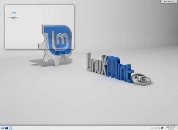 Linux Mint 15 KDE