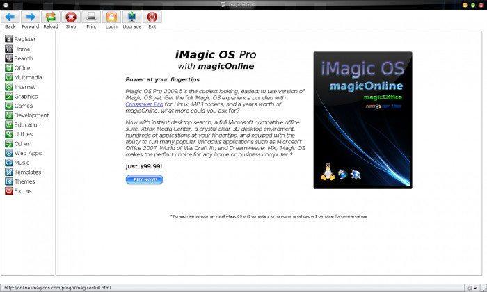 iMagic OS - MagicOnline