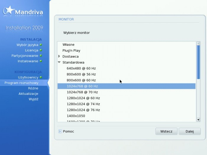 Mandriva 2009.0 - GRUB