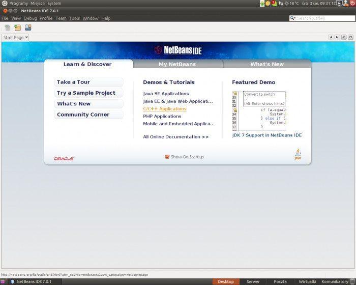 NetBeans 7.0.1
