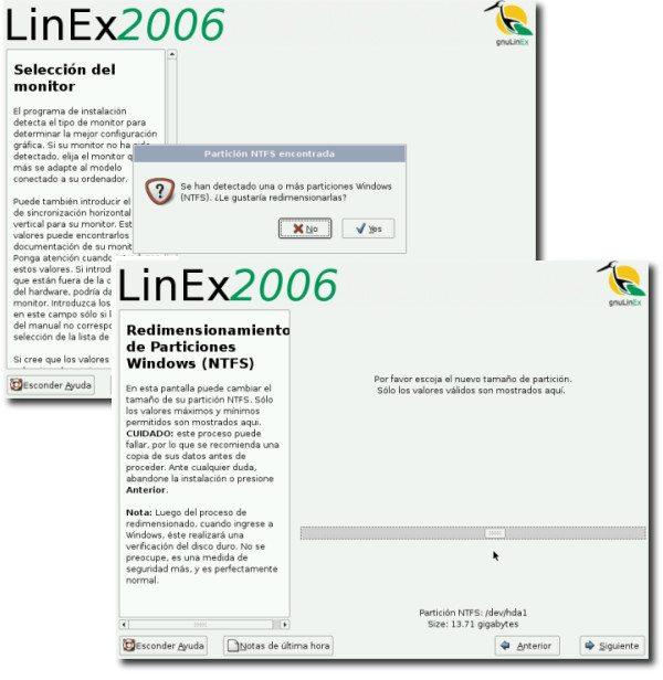 gnuLinEx - NTFS