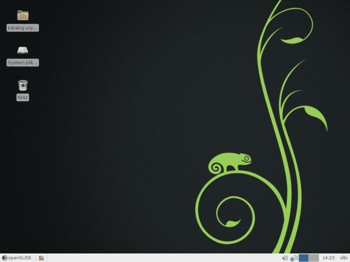 openSUSE 13.1 - pulpit