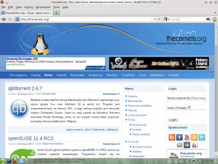 openSUSE 11.4 RC2
