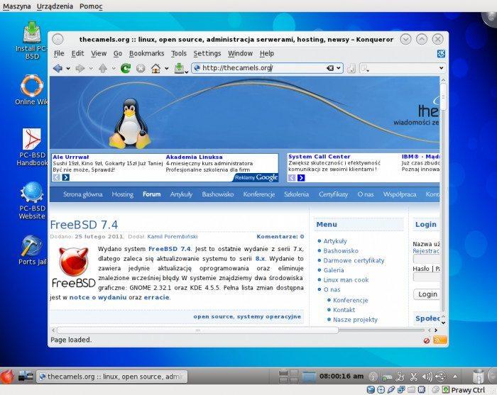 PC-BSD 8.2