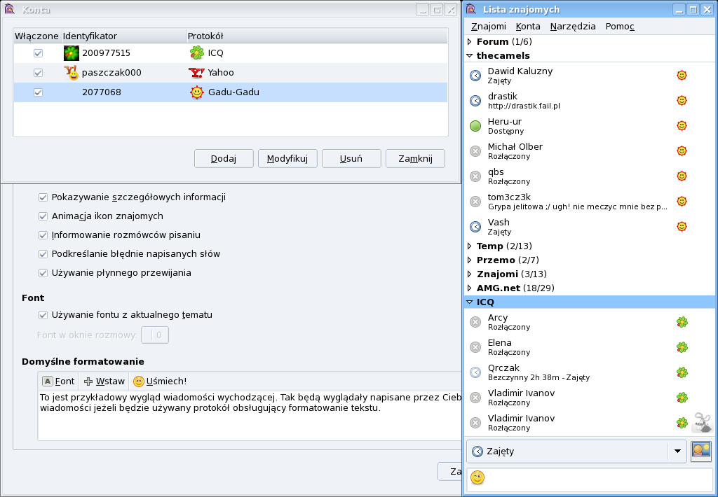 Pidgin 2.4.1   OSWorld.pl