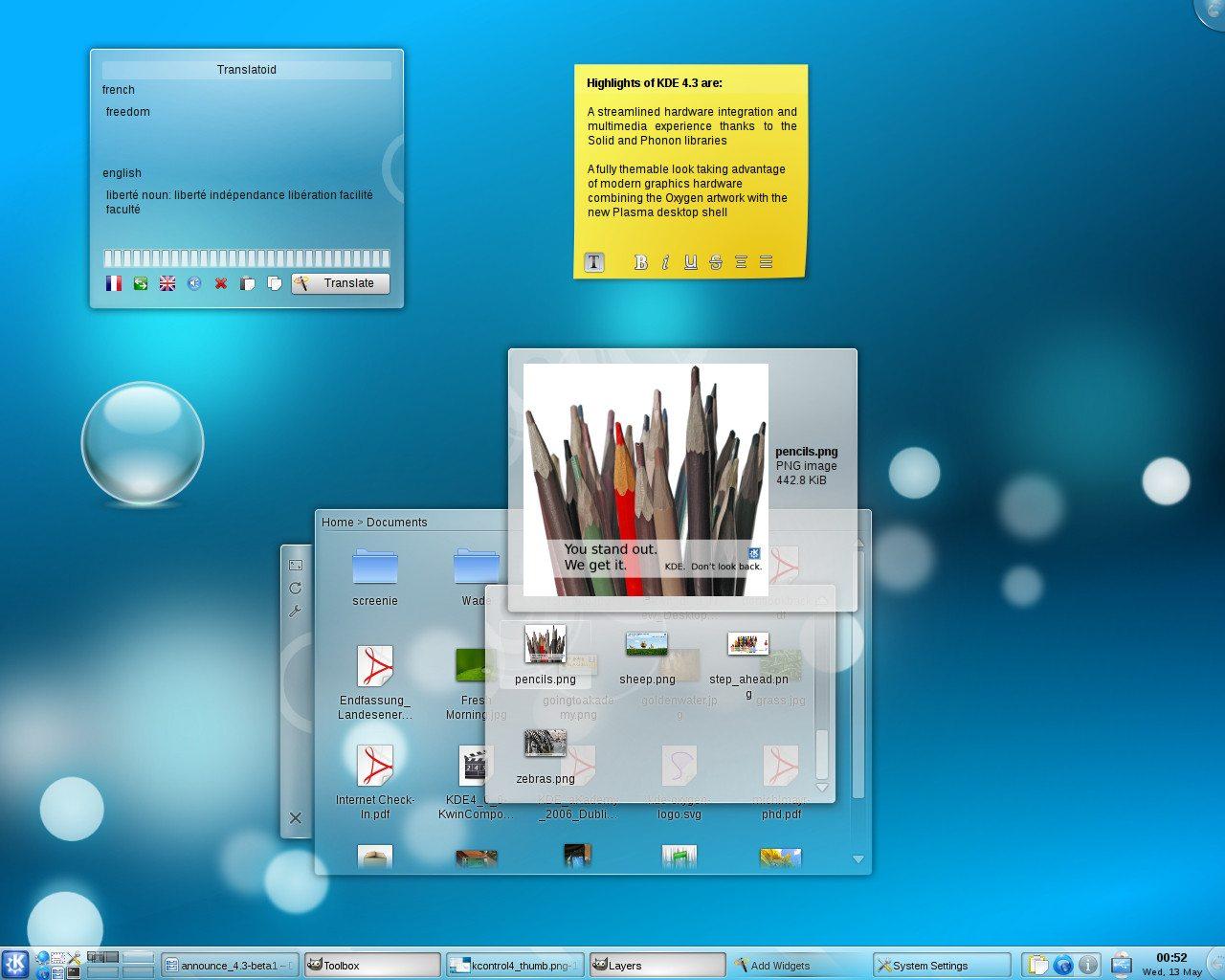 KDE 4.3 RC 1