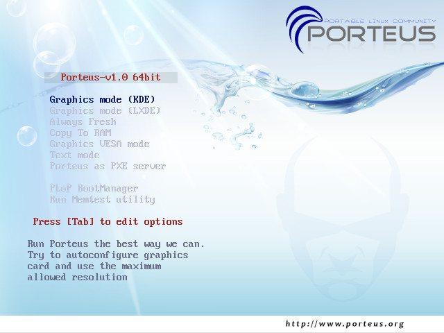 Porteus 1.0 RC2