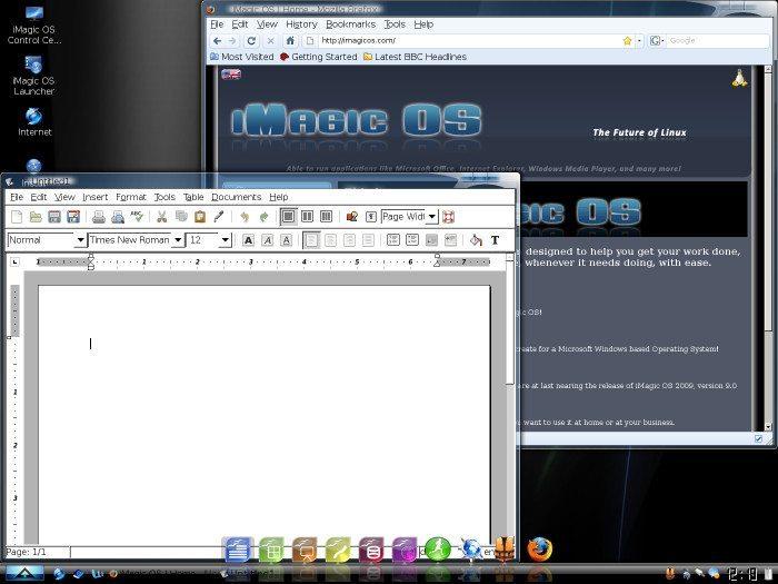 iMagic OS - OpenOffice.org