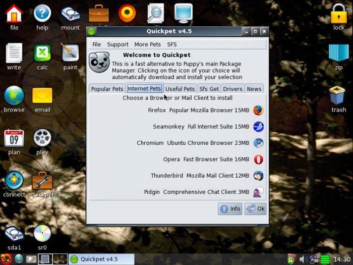 Puppy Linux 5.2.5