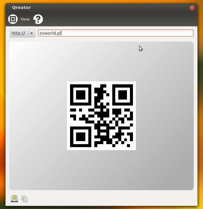 qreator - generowanie URL