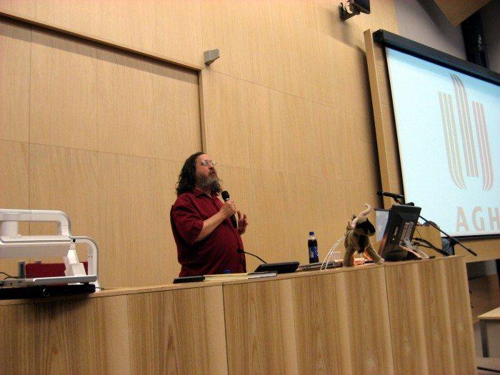 Richard Stallman - IT Giants 2009