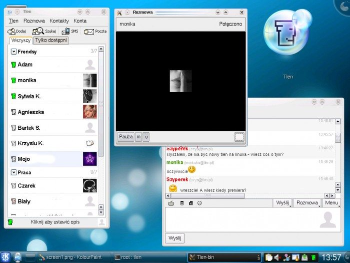 Tlen Linux