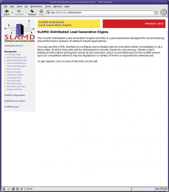 SLAMD - Strona Główna
