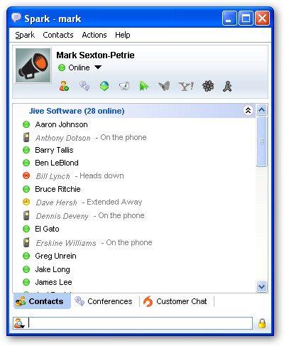 Komunikator Spark - VoIP