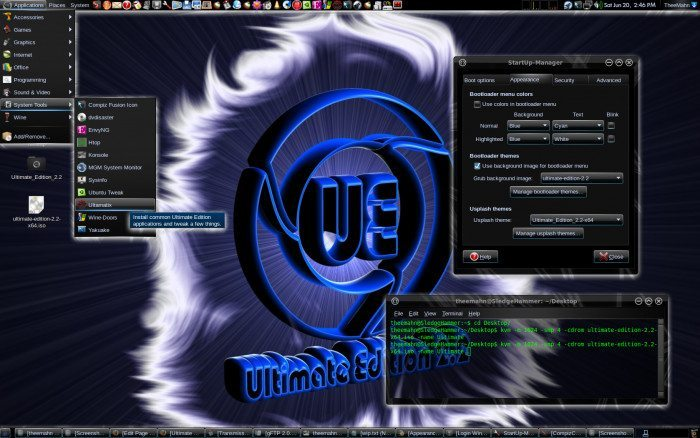Ultimate Edition - Narzędzia systemowe