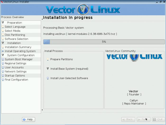 VectorLinux 7.0 Beta 2