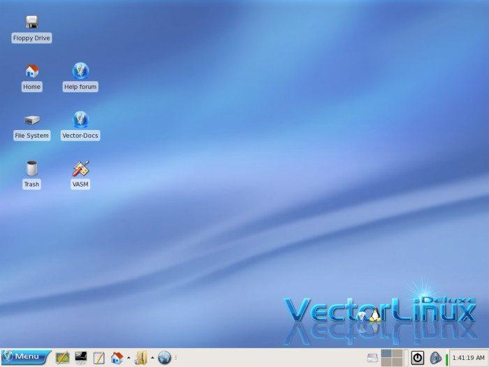 Vector Linux - Pulpit